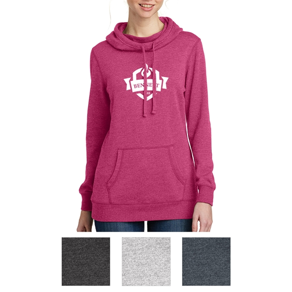 District Made Ladies' Lightweight Fleece Hoodie