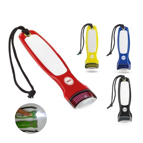 Custom PVC Flashlight with magnet