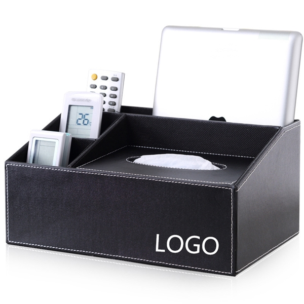 PU Desk Storage Box