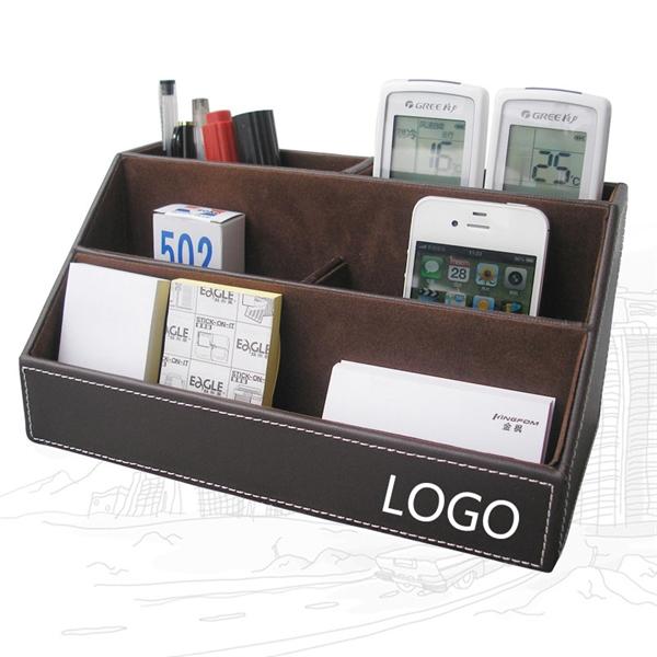 PU Desk Organizer/Storage Box/Business Card Case