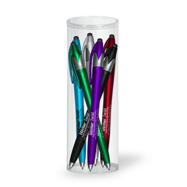 iWriter Twist Stylus Pen 6 Pk Tube Set