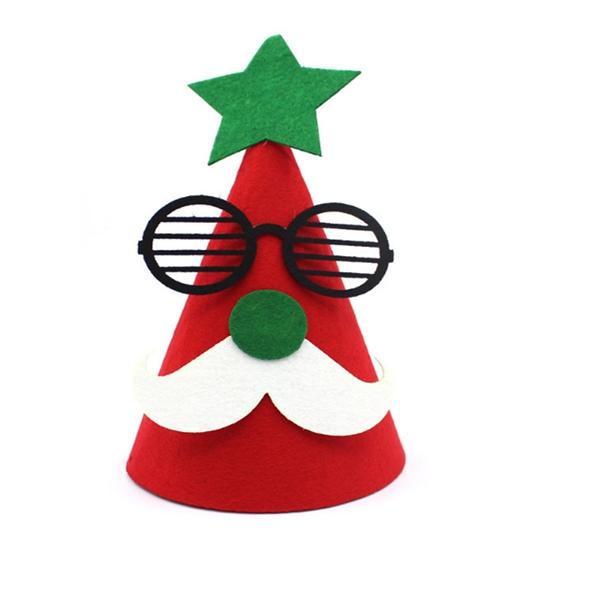 DIY Christmas Felt Ornaments Hat