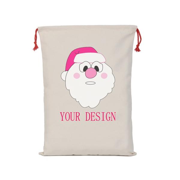 Christmas Canvas Gift Bags