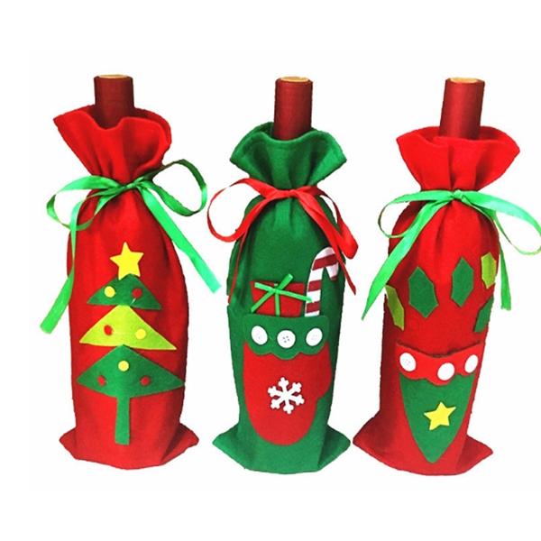 Christmas Wine Gift Bag