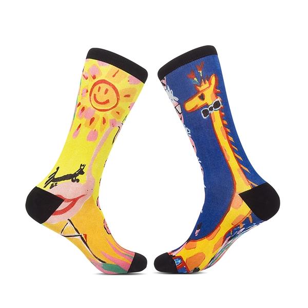 Tribe Digital Cotton Custom Premium Socks - No Sublimation