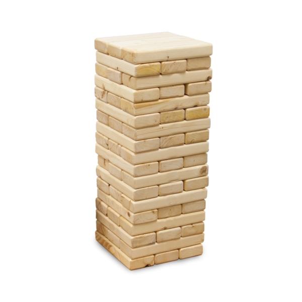 Jumbo Toppling Tower Game (Blank)