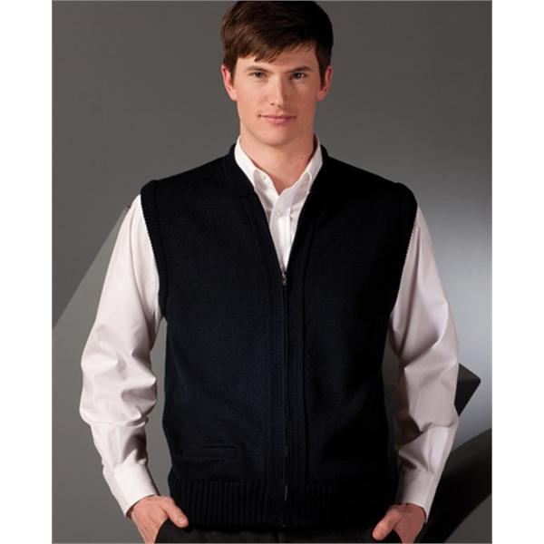 Unisex Heavyweight Acrylic Full-Zip Vest