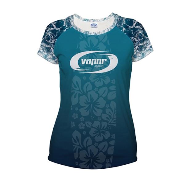 Cut and Sew Ladies Solar Short Sleeve T-Shirt