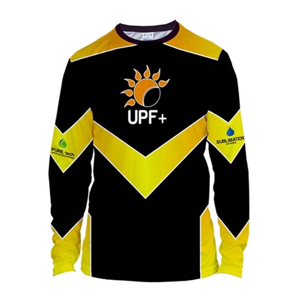 Cut and Sew Men's Solar Long Sleeve T-Shirt