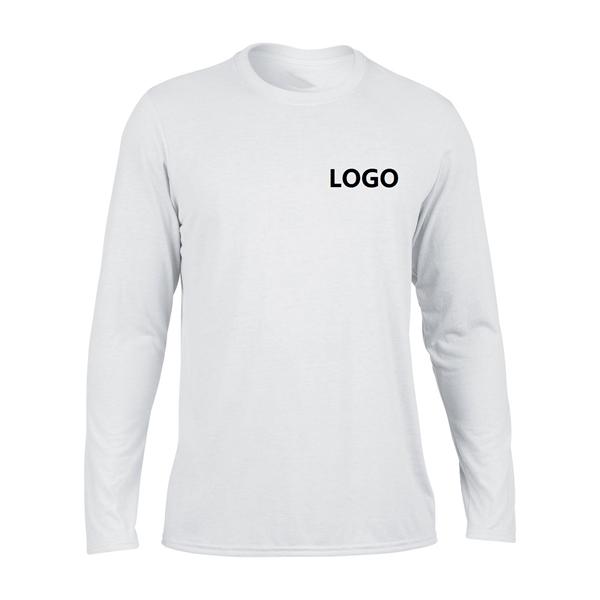 Mens Long Sleeve Sports T-Shirt