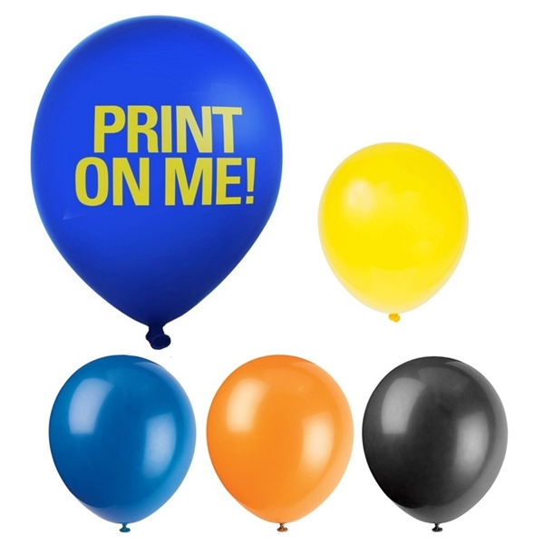 12 Inch Neon Latex Balloons