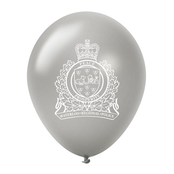 12'' Custom Printed Latex Balloons - Pearl&Metallic Colors