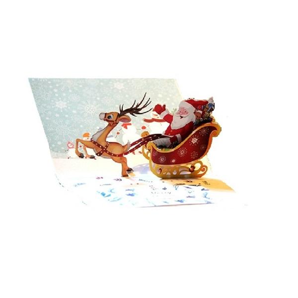 Customizable 3D Christmas cards