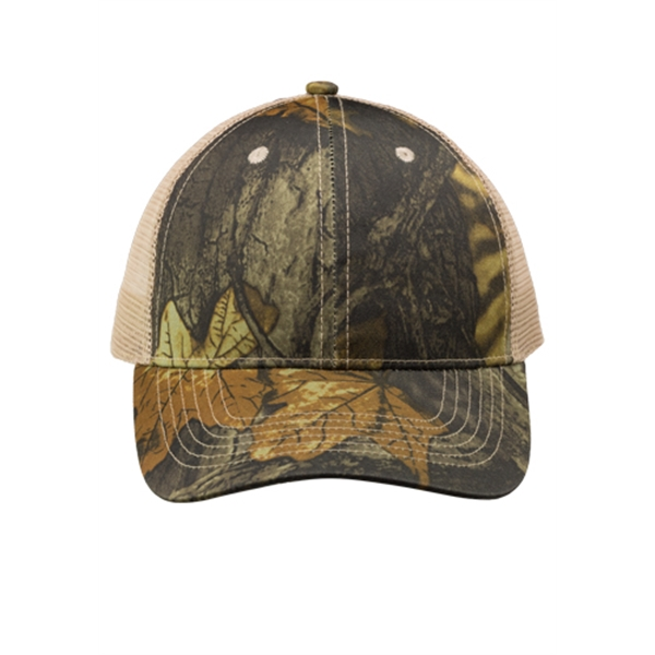 Woodland Camo Mesh Trucker Hat