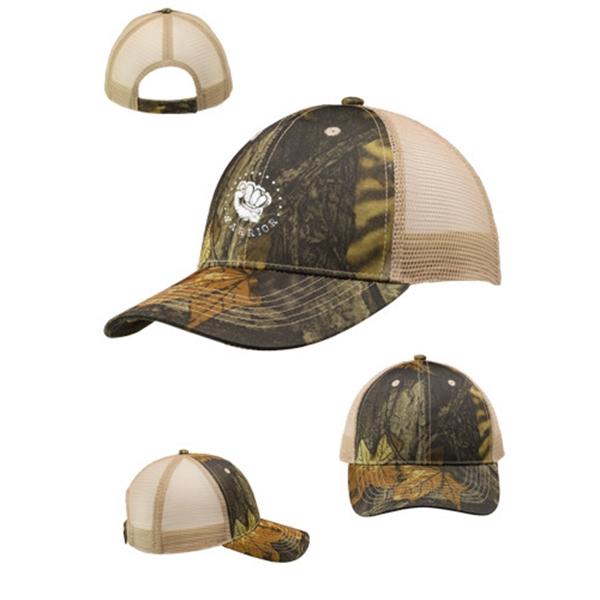 Woodland Camo Mesh Trucker Hat