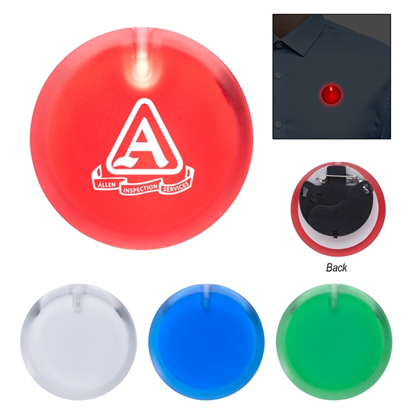 LED Safety Button