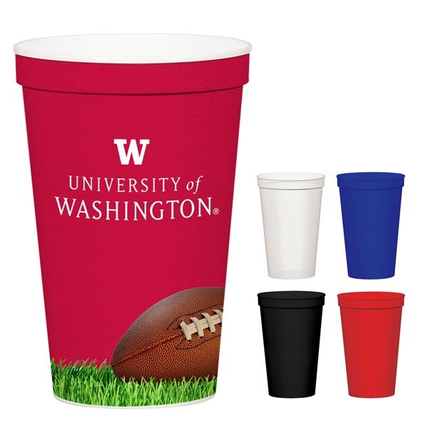 12 Oz. Full Color Stadium Cup