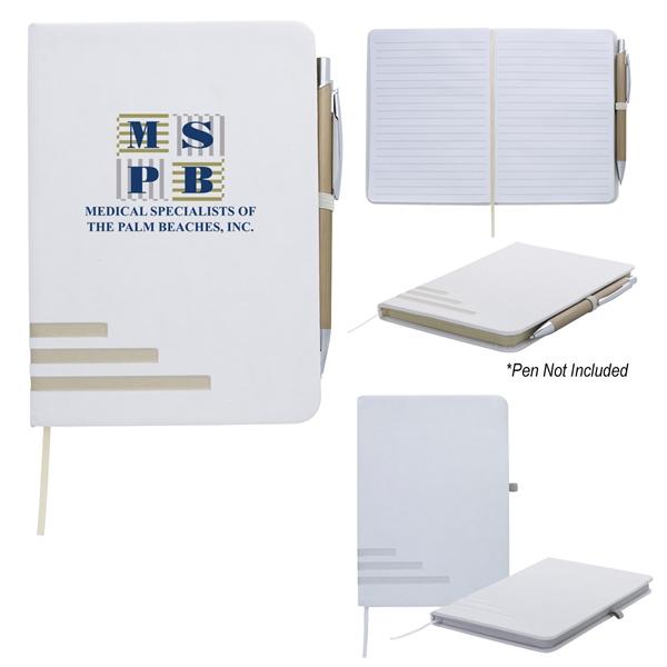 "5"" x 7"" Metallic Stripe Journal"