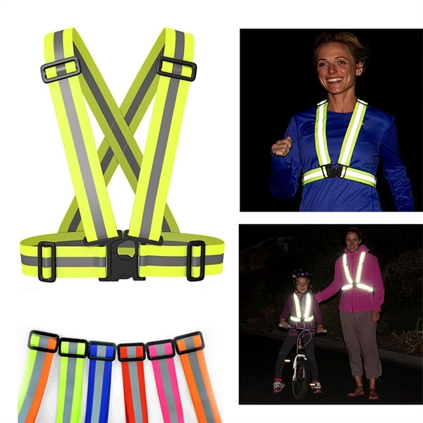 Reflective Safety Vest of High Visibility