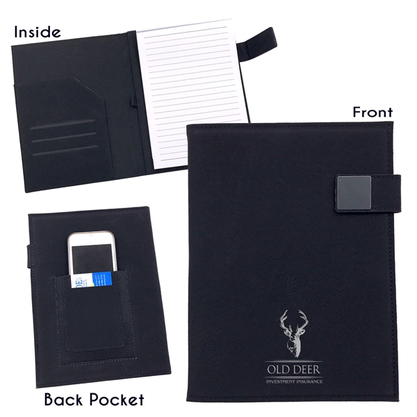 A5 SIZE PU LEATHER NOTEPAD