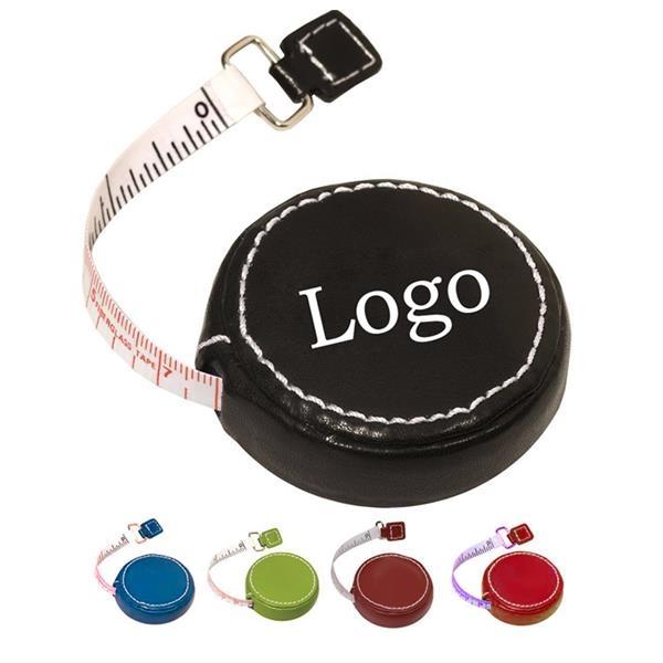PU Leather Round Tape Measure