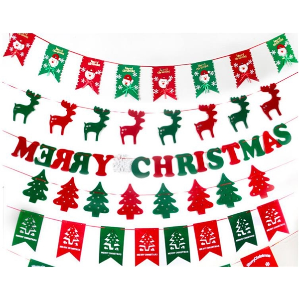 Christmas Window Flags