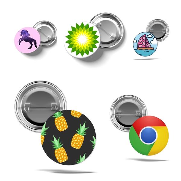 Custom Pin Back Buttons