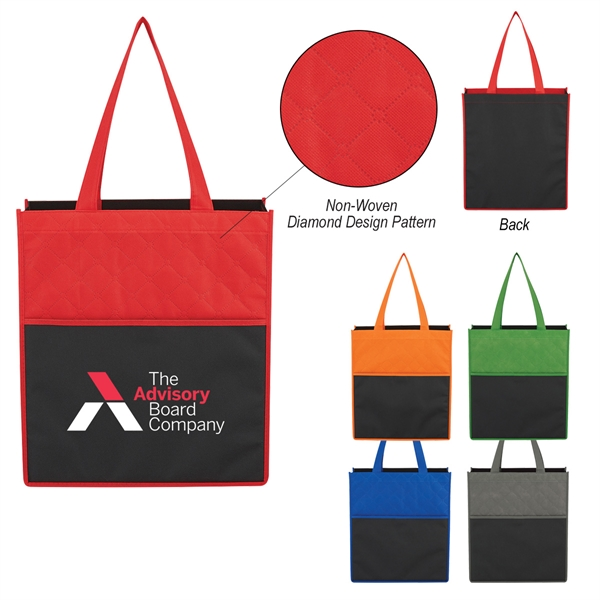 Non-Woven Bounty Shopping Tote Bag
