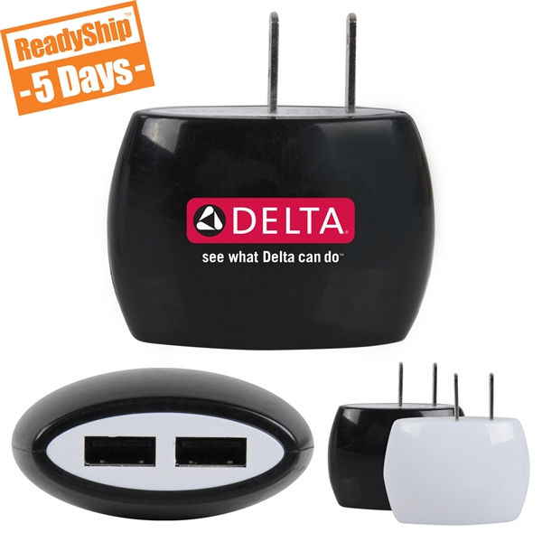 Dual Port Wall Charger
