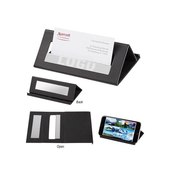Executive Desk Card Holder Media Stand
