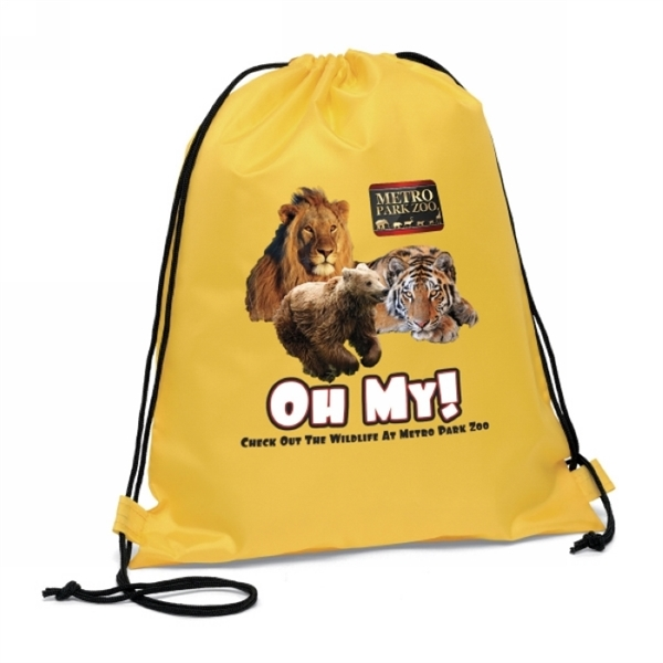 Wholesale 210D Polyester Polyester Drawstring Backpack
