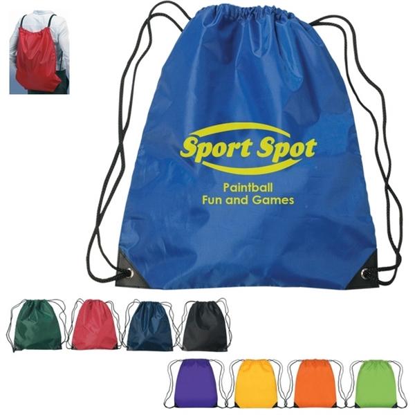 210D Waterproof Nylon Drawstring Bag
