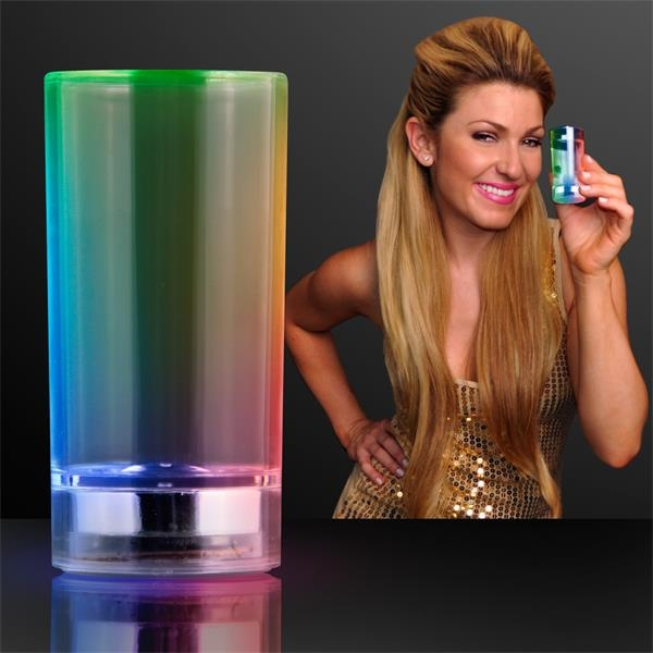 Light up shot shooter glasses (liquid activated)