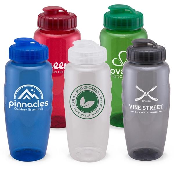 Hydrate - USA 30 Oz. Sports Gripper Water Bottle