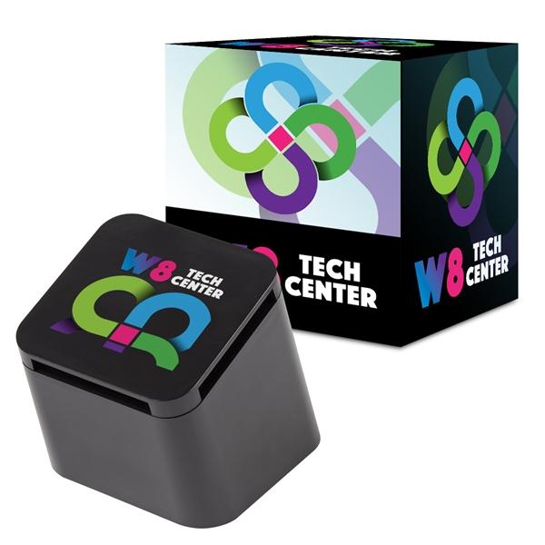 Slanted Cube Wireless Speaker With Custom Box