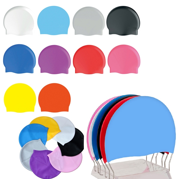 Silicone Swimming Cap - Adult Size