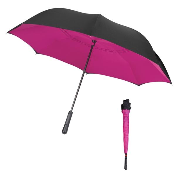 """48"""" Arc Two-Tone Inversion Umbrella"""