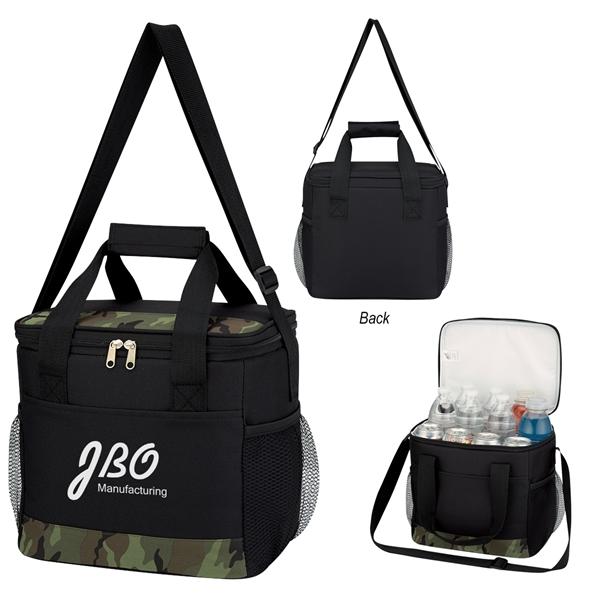 Camouflage Accent Kooler Bag