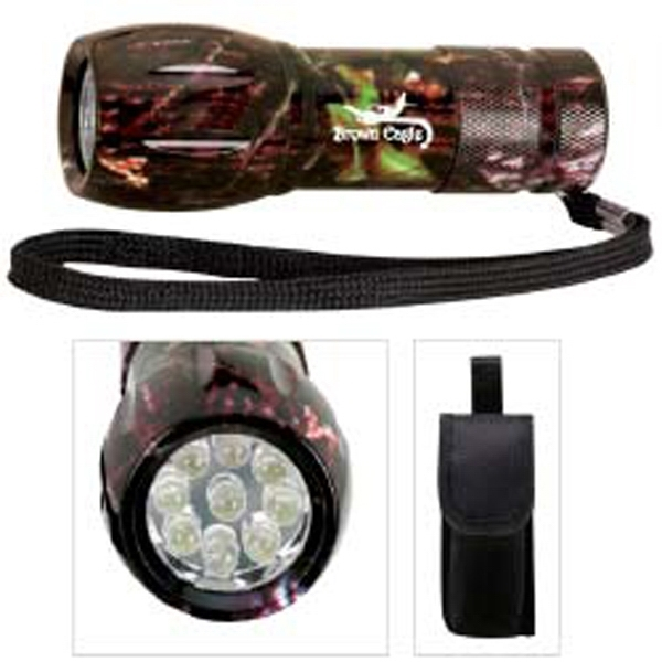 Mossy Oak®Camouflage Mini Aluminum LED Flashlight
