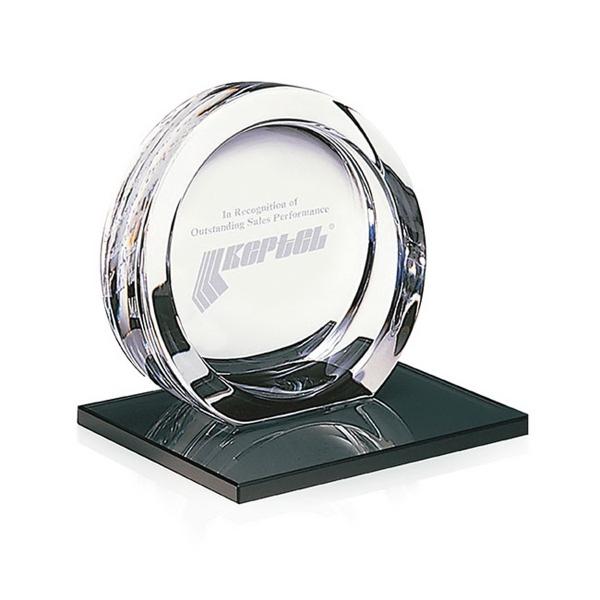 Mario Cioni High Tech Award on Black Glass Base - Small