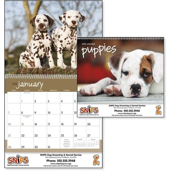 Puppies - Calendar