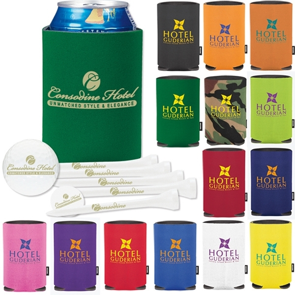 Collapsible Koozie Deluxe Golf Event Kit - Ultra 500