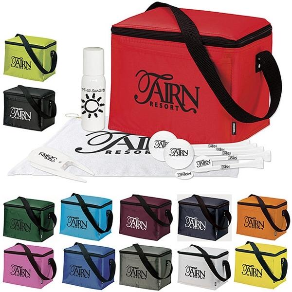 KOOZIE® 6 Pack Cooler Golf Event Kit - DT® TruSoft