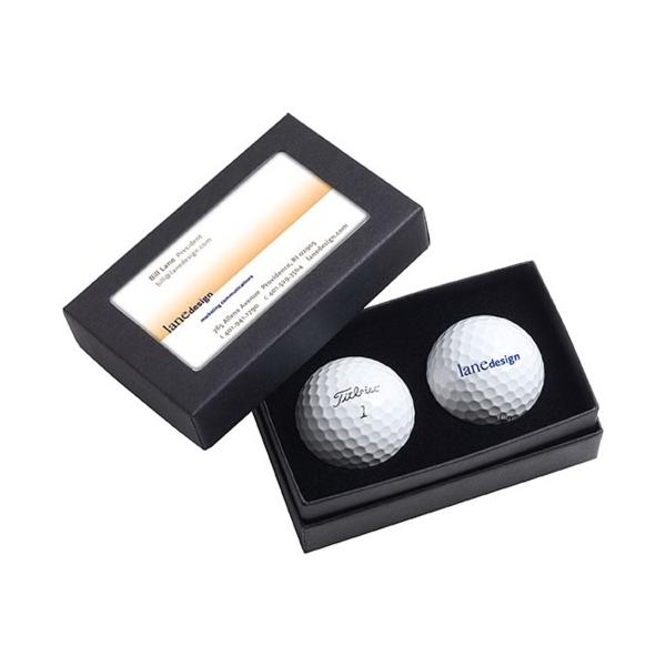 Titleist 2 Ball Business Card Box - Pro V1