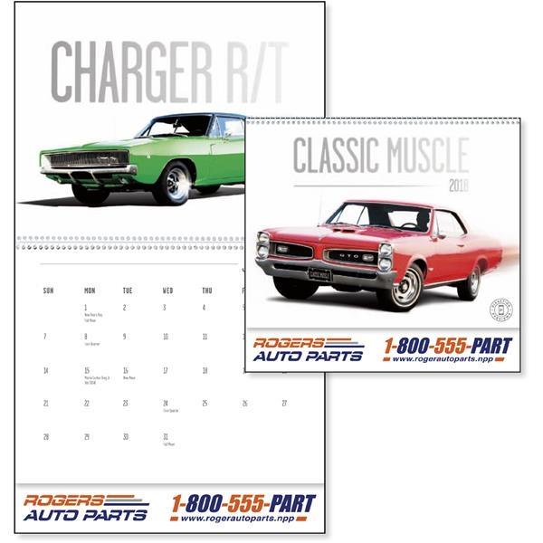 Classic Muscle Cars - Calendar