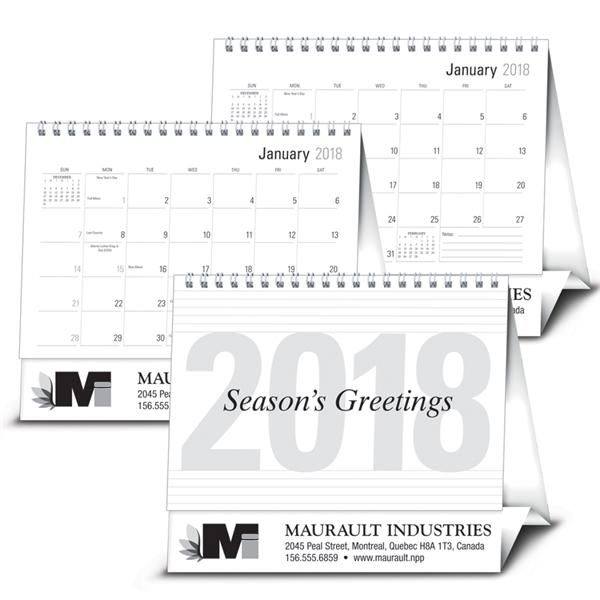 Large Econo Desk - Calendar