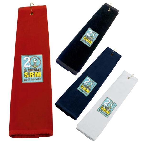 Golf Tri-Fold Towel