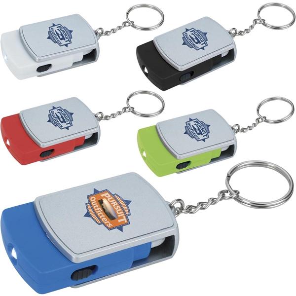 Good Value® Swivel Tech Keychain