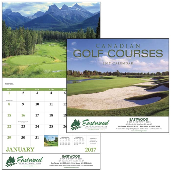 Canadian Golf Courses - Stapled