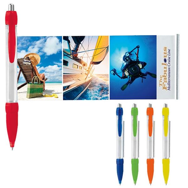 Translucent Colored Banner Pen